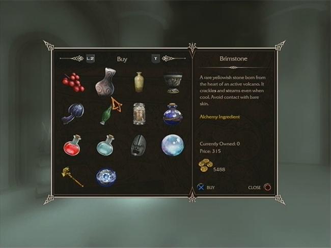 Sorcery shop