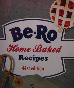 Be-Ro cook book cover